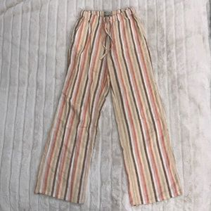 UO Pastel Stripe Linen Pants